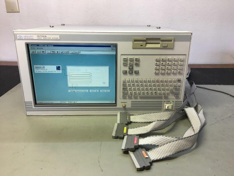 HP 16702A Logic Analyzer With 16557D Module - Logic Analysis System