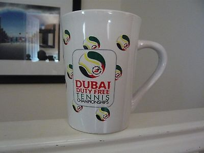 Dubai Tennis Duty Free Official Mug New Unused!