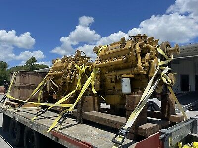 Caterpillar Cat 3408 Diesel Engine Dyno From Power Ring Cat