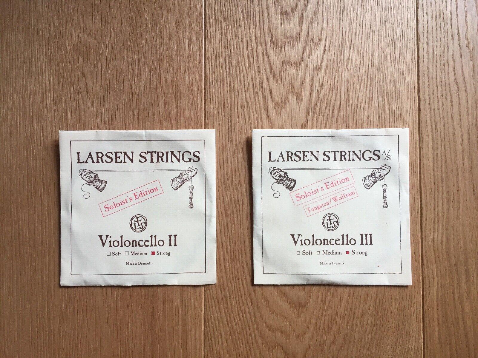 Larsen Cellosaiten D und G, Soloists Edition Strong, neu und originalverpackt