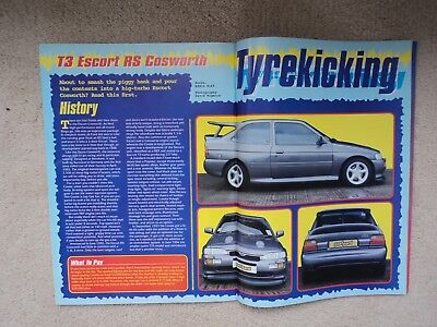 Ford T3 Escort RS Cosworth  - (Fast Ford Mag.) - 1998