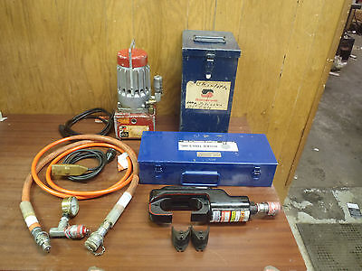 Somerset Ut10-a1 Hydraulic Pump Huskie Ep-610hn Hydraulic Crimper Wdiecases