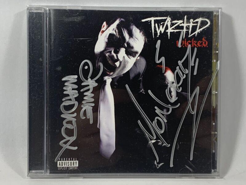 TWIZTID Wicked Insane Clown Posse autographed