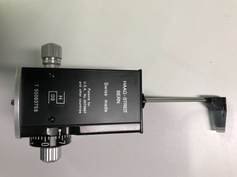 Haag-Streit Bern - Applanation Tonometer with Prism Tip, Used