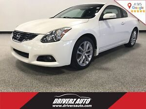 2011 Nissan Altima 3.5 SR COUPE, 6 SPEED MANUAL, LEATHER