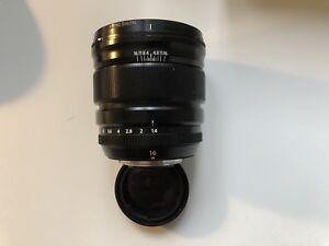 Fuji xf16mm f1.4 perfect condition
