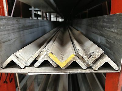 Stainless Steel Angle 2-12 X 2-12 X 316 X 48 304