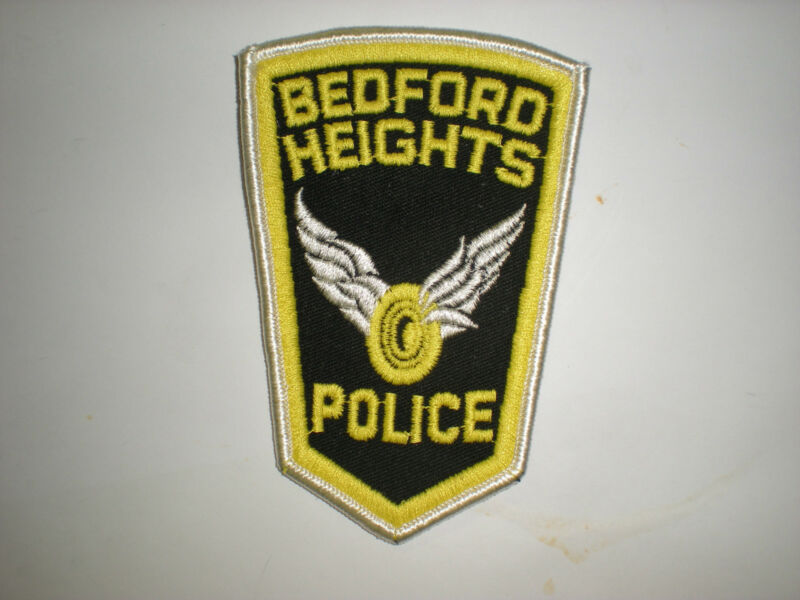 BEDFORD HEIGHTS, OHIO POLICE DEPARTMENT PATCH