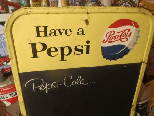 Vintage Pepsi Chalk Sign/Atlas/Union76/Flying A/ Socony/Drydene/Bell Telephone/A