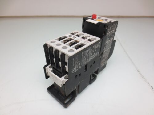 GENERAL ELECTRIC RT1J CONTACTOR WITH RELAY CL01A310T