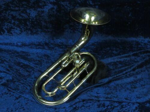 Olds Ambassador Bell Front 3 Valve F Alto Horn Ser#758194 Kind of Plays