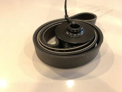 Used 2013 Audi S5 3.0T B8.5 OEM Supercharger Belt & Pulley - Fully Functional!
