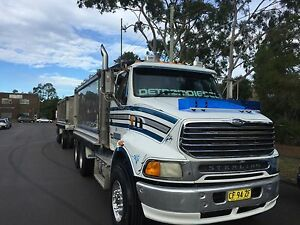 Truck and dog tipper tipper trailer Auburn Auburn Area Preview