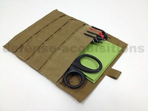 Eagle-Industries-MOLLE-USMC-Coyote-Admin-Pouch-Side-Plate-Pocket-Carrier-USGI
