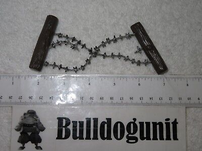 Barbed Wire Piece Only Plastic Toy Figure Military Army War - Plastic Barbed Wire