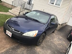 2005 honda accord as is