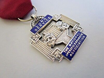 Silver National Operatic & Dramatic Association Medal / Fob, 1969