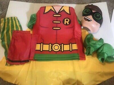 LEGO Batman Movie Robin Costume Mask Pants Foam Top