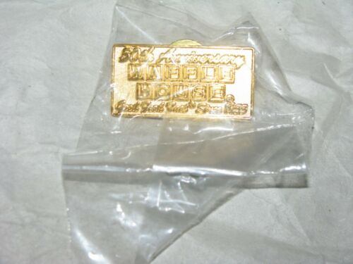VINTAGE WAFFLE HOUSE 50TH ANNIVERSARY PIN IN PACKAGE