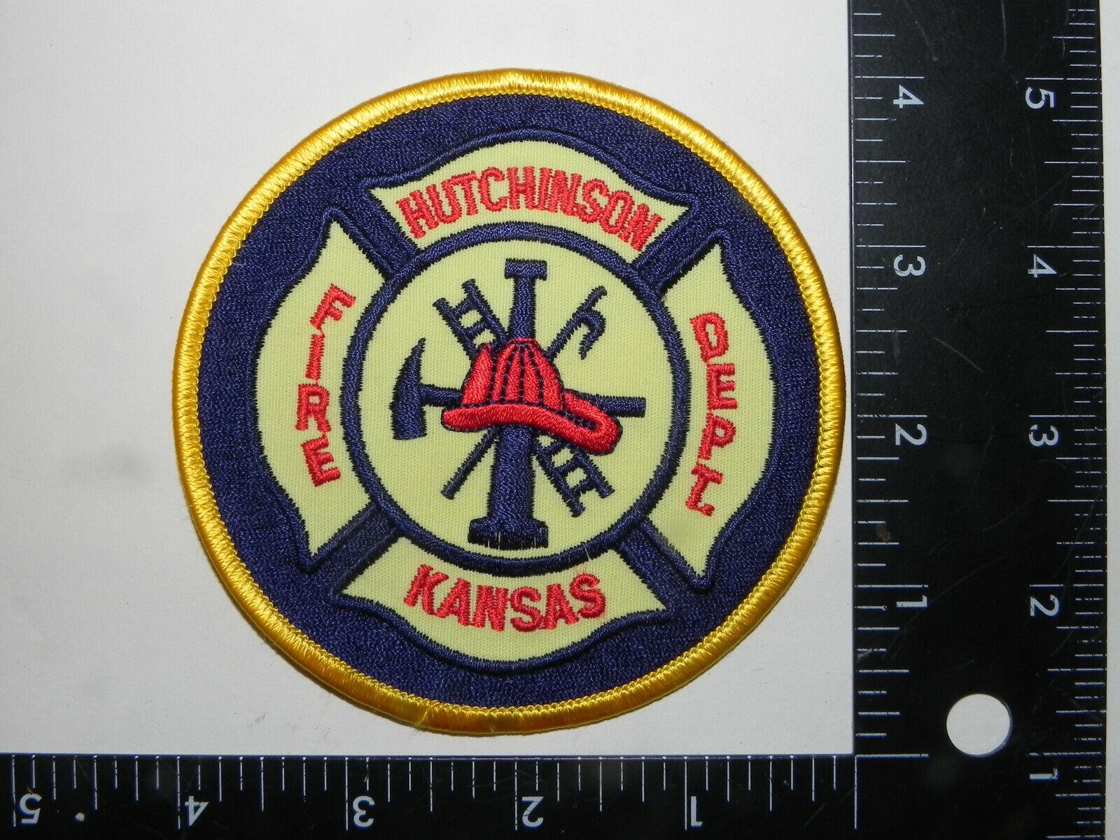 HUTCHINSON, KANSAS FIRE DEPT. - $2.50