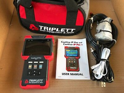 Triplett Camview Ip Pro 8070 Camera Tester W Cables Bag Accessories