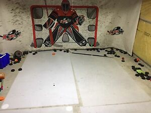 Hockey shooting mats
