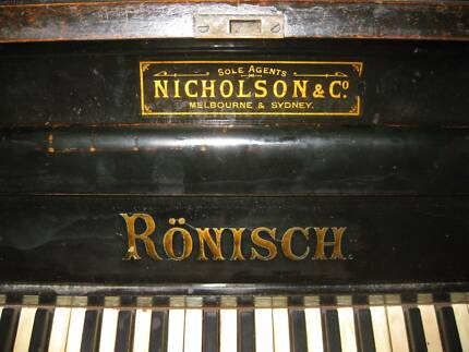 RONISCH UPRIGHT PIANO JUST $50