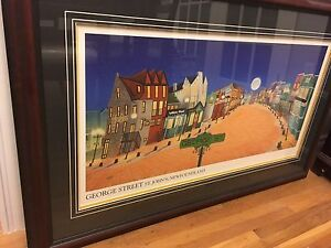 Limited Edition Print Of George Street