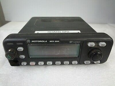 Motorola Mcs 2000 Flashport M01hx822w 800mhz Two Way Radio