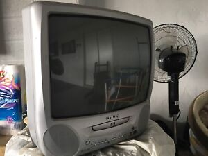 Tube TV with built in DVD
