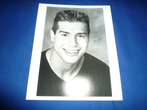 JON SEDA  signed Autogramm 20x25 cm In Person SHOOTOUT Sylvester Stallone