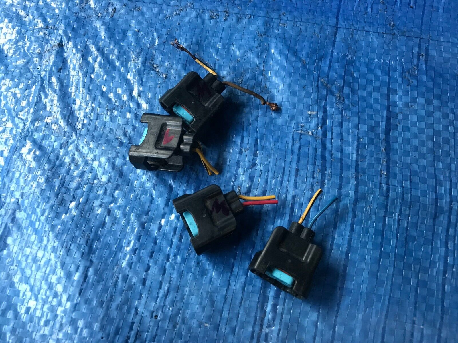Used Honda S2000 Fuel Injection Parts For Sale Wiring Harness 2002 Oem 2003 Ap1 V2 F20c1 Engine Pig Tail Set Of 4 2000 2001 2004 2005