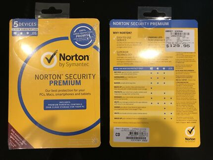 Norton Security Premium 4 Year Subsciption +  WiFi Privcacy (VPN)