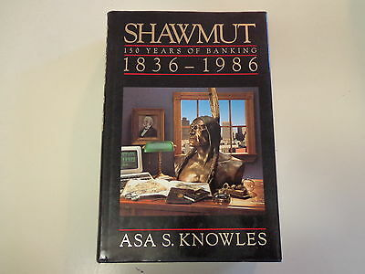 Shawmut 150 Years of Banking 1836-1986 HBDJ Boston Massachusetts Bank