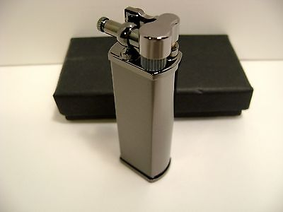 Tsubota Pearl BOLBO Black Satin model Pipe Lighter Seki City, Japan Old Boy
