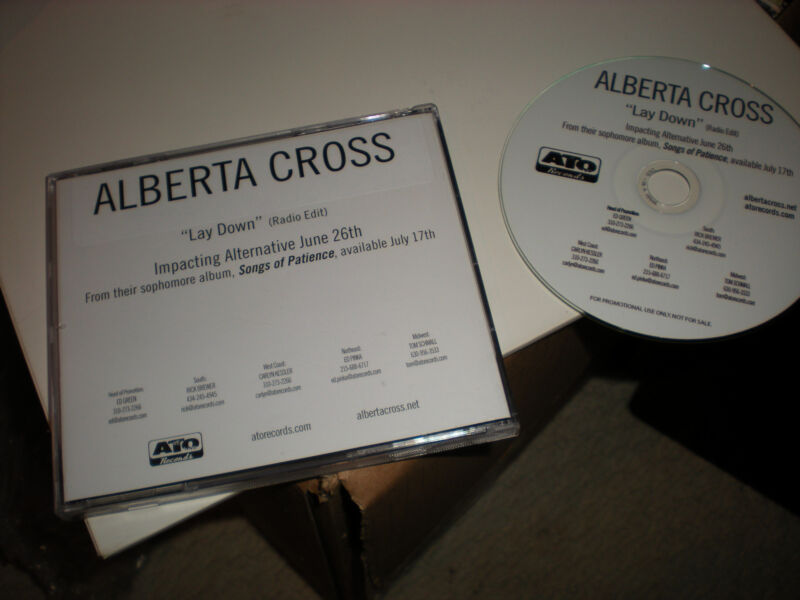 Alberta Cross Lay Down CD SINGLE one track radio edit