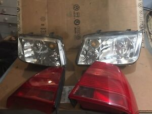 Headlights and tail lights 99 to 2004 Jetta