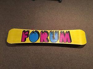 Forum snowboard with K2 bindings