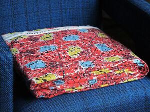 Tissu ancien vintage annees 50 60 275 x 120 cm coton haute qualite 1950 196 - Tissu vintage annees 50 ...