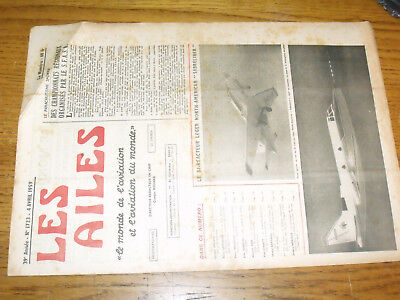 "14µ?  Revue Les Ailes ""Monde Aviation"" n°1723 SabreLiner Jodel DR100 for sale  Shipping to Canada"