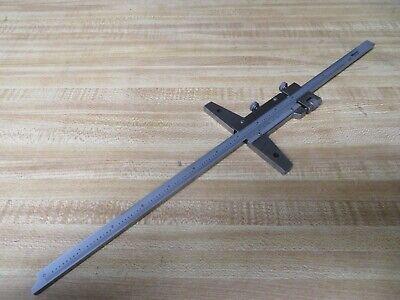 Mitutoyo 527-113 Vernier Depth Gauge Caliper Type 0-12 Range Of47