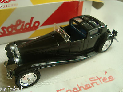 miniature Bugatti royale coupé ville 1930 1/43 nmr4036 11/83 solido avecsa boite