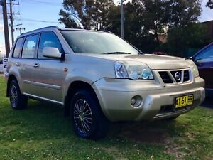 2003 Nissan X-Trail ST 4x4 Wagon 4 Cyl Manual Warranty  Leumeah Campbelltown Area Preview