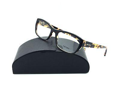 Prada Black Eyeglasses  18O NAI 1O1 54 mm Designer  Demo Lenses