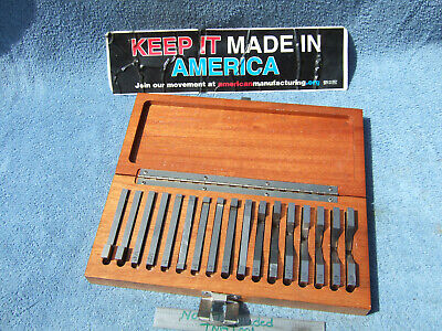 Flat Angle Gage Blocks 17 14 To 30 Machinist Toolmaker Inspection Grind Qta