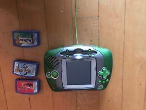 Leapster leap frog avec 3 cassettes