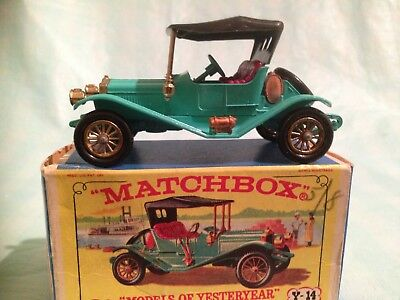Matchbox Series Models of Yesteryear No Y-14 1911 Maxwell Roaster