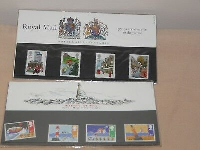 2 sets of stamps  (all new in packs) for collectors UK mint