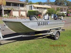 12ft SEA-AL Boat, 15HP Yamaha, 42lb Electric Motor Lemon Tree Passage Port Stephens Area Preview