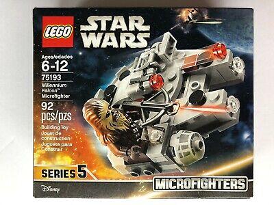 Lego Star Wars Series 5 MILLENNIUM FALCON MICROFIGHTER Set 75193 New, Sealed!